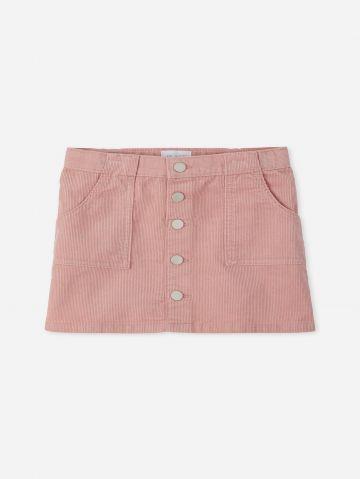 חצאית מיני קורדורוי / בנות של THE CHILDREN'S PLACE