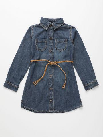 שמלת ג'ינס מכופתרת / בנות של THE CHILDREN'S PLACE