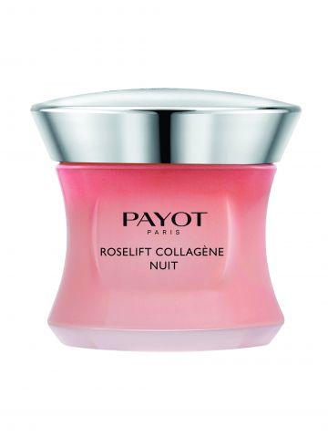 רוז ליפט קרם לילה עשיר לשיפור מוצקות העור Roselift Night Cream של PAYOT