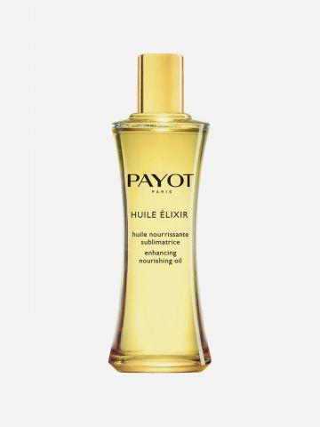 שמן מזין לעור הגוף הפנים והשיער Huile Elixir Nourishing Oil של PAYOT