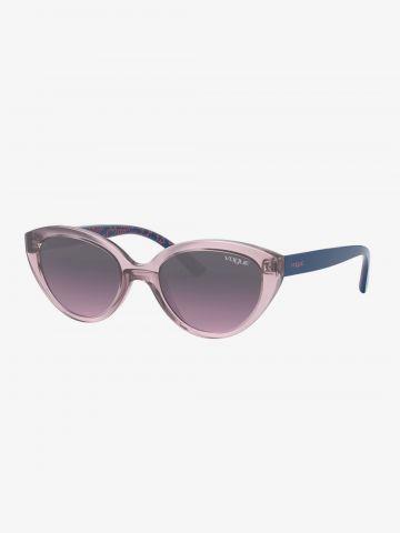 משקפי שמש אומברה עם מסגרת פלסטיק injected / בנות של vogue eyewear