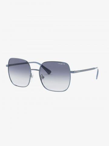 משקפי שמש מרובעים באפקט אומברה של vogue eyewear