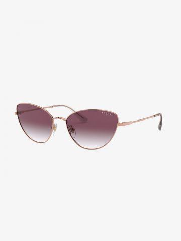 משקפי שמש עדשות עיני חתול של vogue eyewear