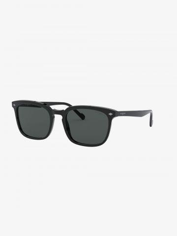 משקפי שמש מלבניים מסגרת פלסטיק / גברים של vogue eyewear