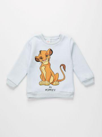 חולצת פוטר עם הדפס סימבה / 3M-3Y של FOX