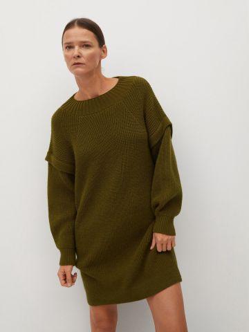 שמלת סוודר באורך מיני של MANGO