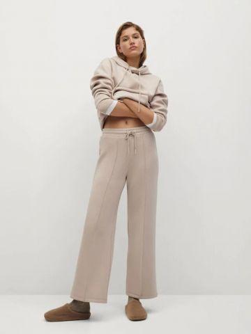 מכנסי טרנינג ארוכים של MANGO