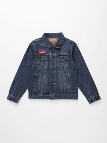 ג'קט ג'ינס עם לוגו / בנים של LEVIS