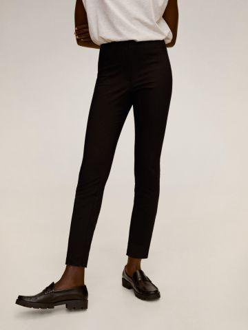 מכנסיים צמודים עם גומי מותן של MANGO