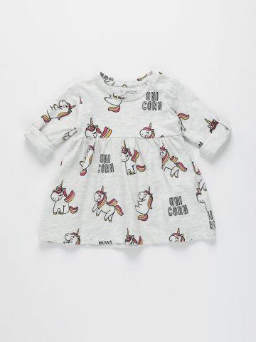 שמלה בהדפס יוניקורן / 3M-3Y של FOX