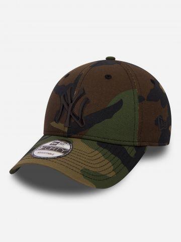 כובע מצחייה קמופלאז' עם לוגו / גברים של NEW ERA