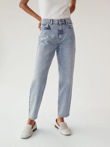 ג'ינס Mom בגזר גבוהה של MANGO