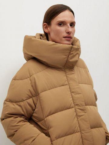 מעיל קווילט במילוי נוצות של MANGO
