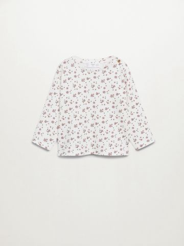 חולצה בהדפס פרחים / 9M-4Y של MANGO