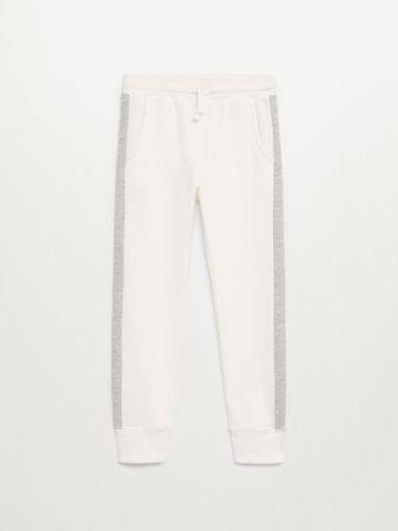 מכנסי טרנינג עם סטריפים / בנות של MANGO