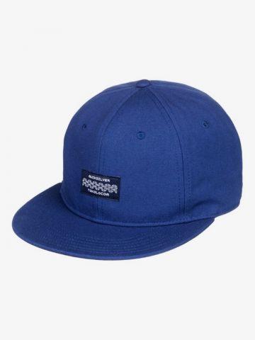 כובע מצחייה עם פאץ' לוגו של QUIKSILVER