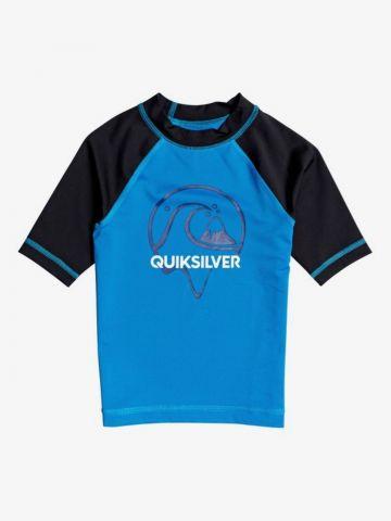 חולצת גלישה עם לוגו / בנים של QUIKSILVER
