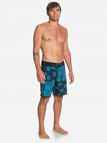 מכנסי בגד ים בהדפס אבסטרקטי של QUIKSILVER