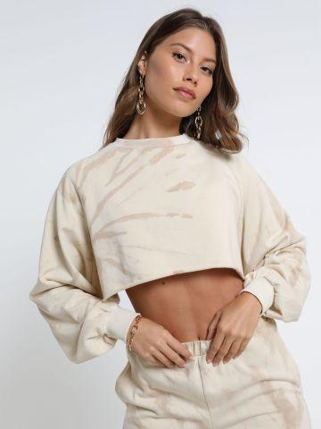 חולצת קרופ טאי דאי של NOA KIREL X TERMINAL X