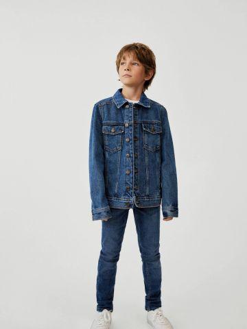 ג'קט ג'ינס קלאסי של MANGO