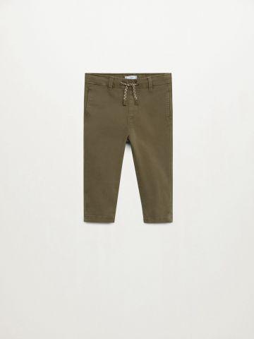 מכנסיים ארוכים עם כיסים / 9M-4Y של MANGO