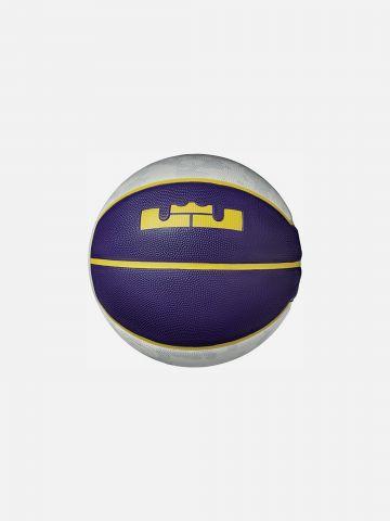כדורסל עם הדפס לוגו LeBron Playground 4P של NIKE