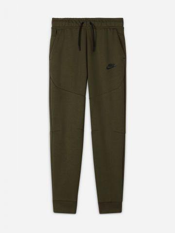 מכנסי טרנינג לוגו עם רוכסן מודגש Tech Fleece / בנים של NIKE
