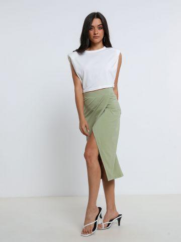 חצאית מידי מעטפת של TERMINAL X