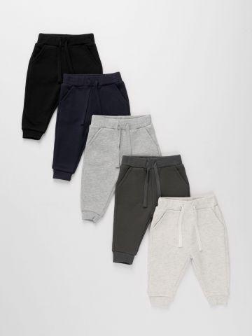 מארז 5 מכנסי פרנץ' טרי ארוכים / 3M-14Y של TERMINAL X KIDS