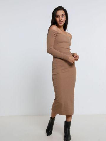 שמלת מידי אוף שולדרס של TERMINAL X