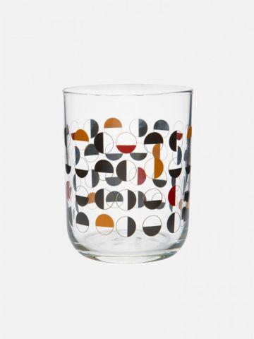כוס זכוכית BLUSH של FOX HOME