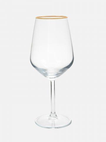 גביע יין עם גימור זהב Glam של FOX HOME