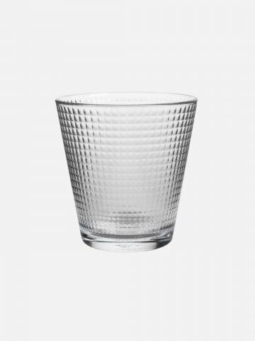 כוס זכוכית אובלית Stone של FOX HOME