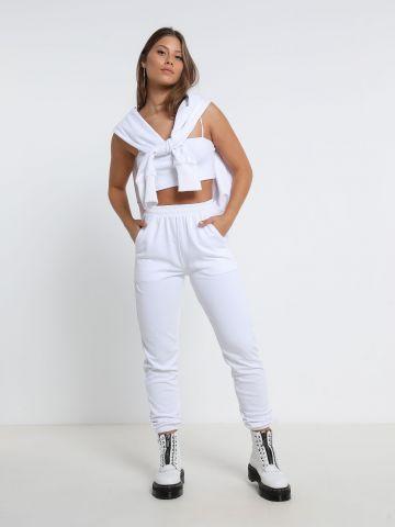 מכנסי טרנינג בייסיק של TERMINAL X