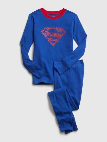 סט פיג'מה בהדפס סופרמן / בנים של GAP