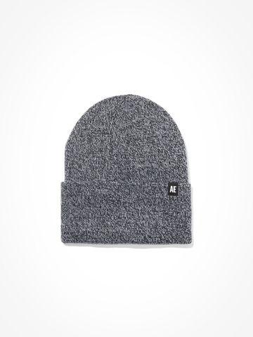 כובע גרב מלאנז' עם לוגו / גברים של AMERICAN EAGLE