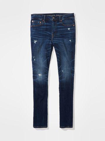 ג'ינס ארוך עם עיטורי קרעים slim Fit / גברים של AMERICAN EAGLE