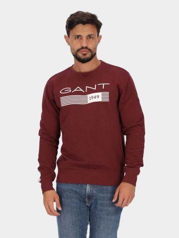 סווטשירט עם הדפס לוגו של GANT