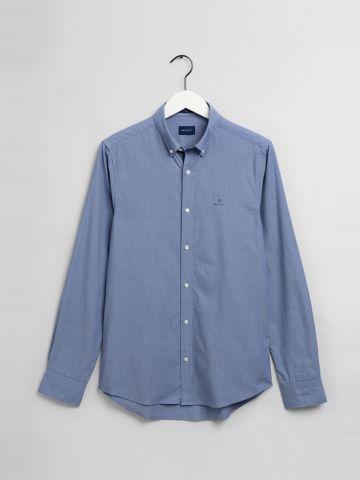 חולצה מכופתרת עם לוגו / גברים של GANT