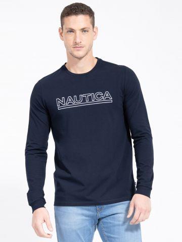טי שירט עם לוגו של NAUTICA