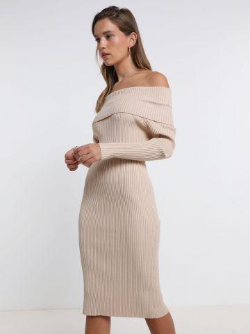 שמלה סרוגה אוף שולדרס של TERMINAL X