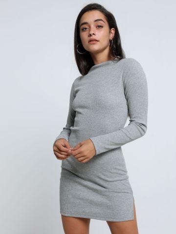 שמלת מיני ריב עם שסע של TERMINAL X