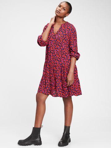 שמלת מיני קומות בהדפס פרחים של GAP