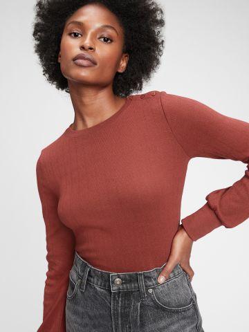 חולצת פוינטל עם כפתורים של GAP