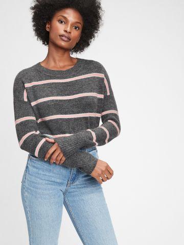 סוודר בהדפס פסים של GAP