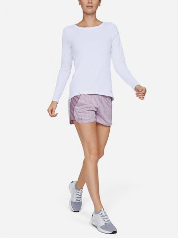 חולצת אימון עם שרוולים ארוכים HeatGear של UNDER ARMOUR