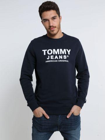 סווטשירט עם לוגו של TOMMY HILFIGER