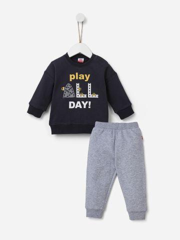 סט פוטר Play All Day / 0-24M של SHILAV