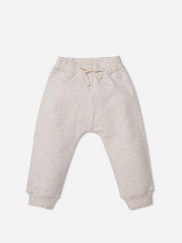 מכנסי טרנינג ארוכים חלקים / בנות של SHILAV