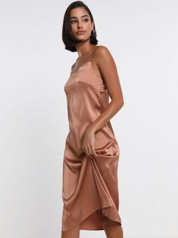שמלת מידי בגימור סאטן של TERMINAL X